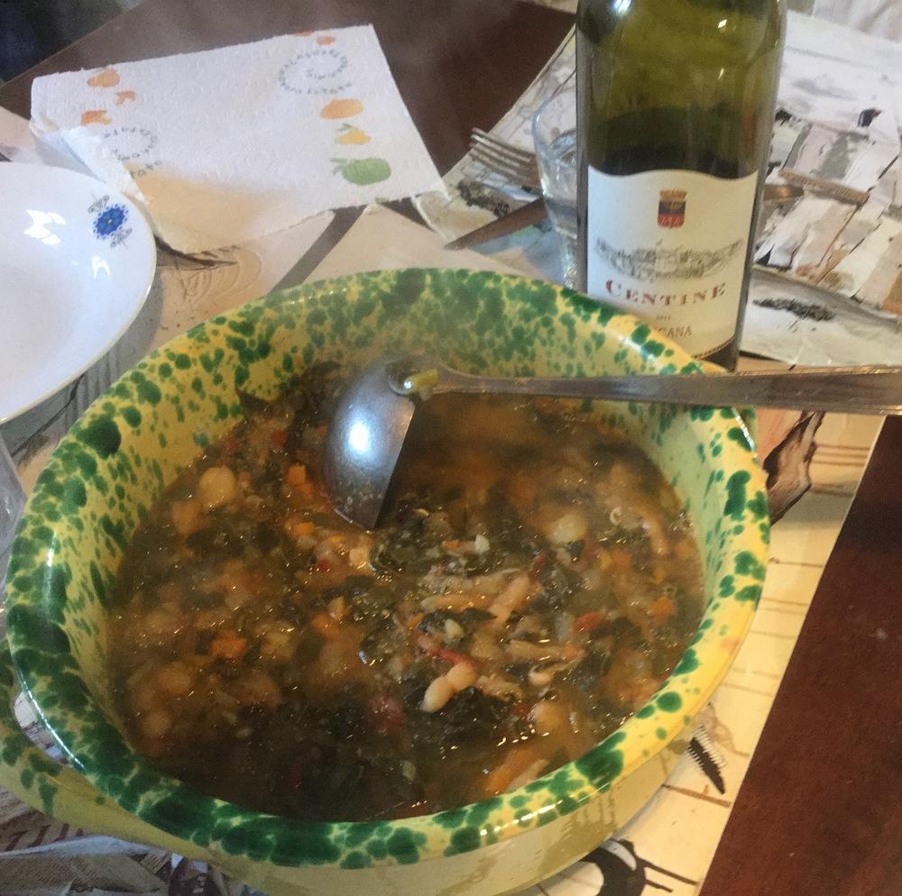 Minesstra soup