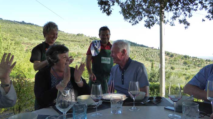 tuscan cooking school lunc
