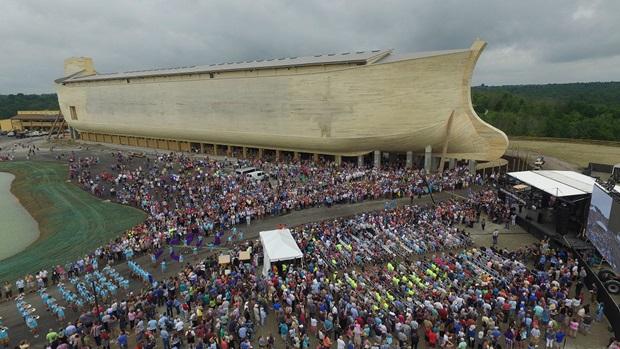 Replica Noah's ark