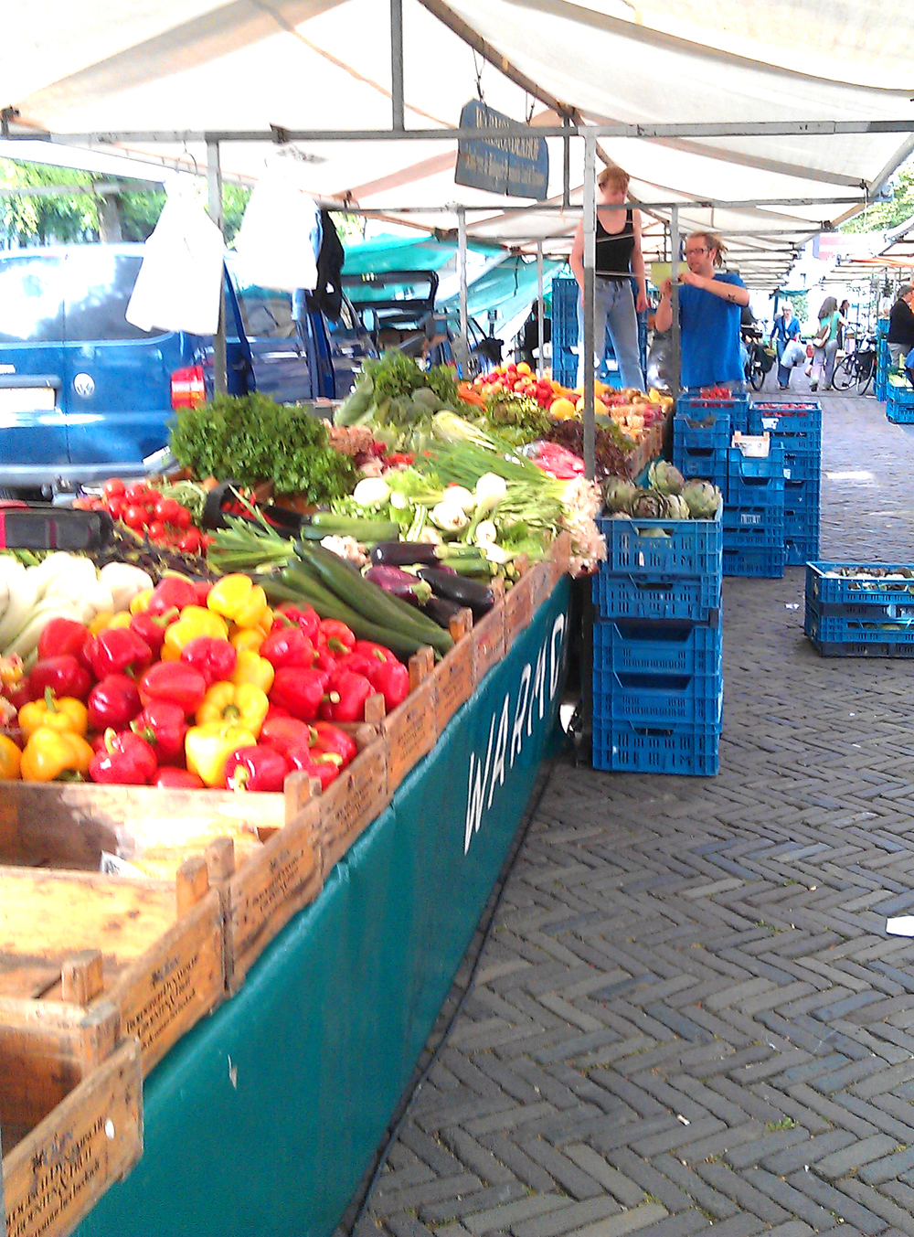 Farmers' Market in Amsterdam - such wonderful, fresh produce!