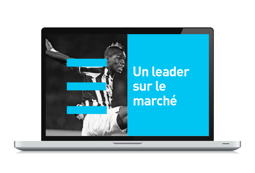 Direction artistique web - Advertsport