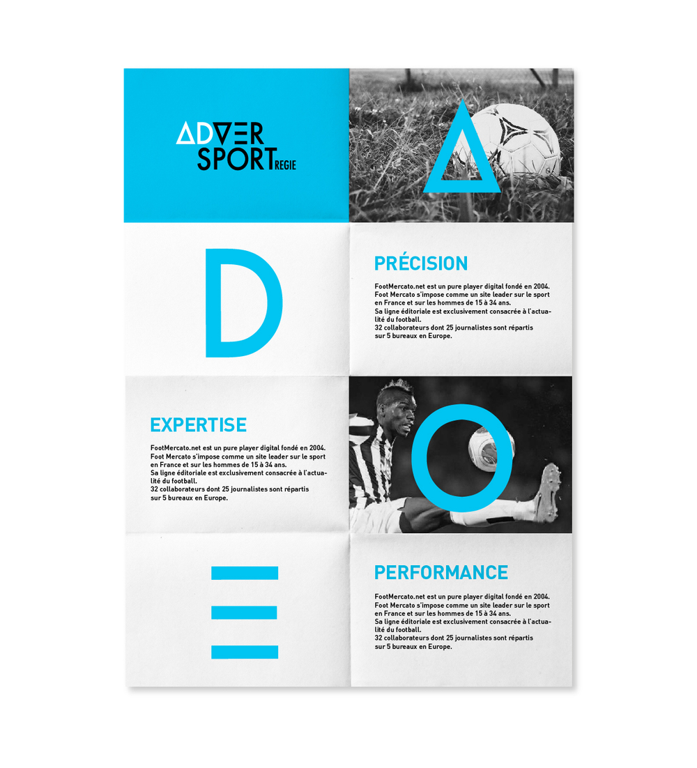 Déclinaison print branding Advertsport