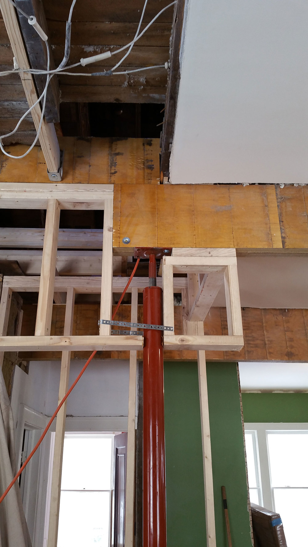 New beams and column