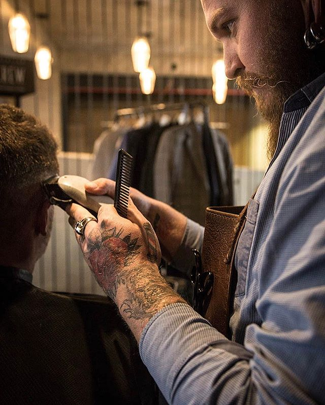 Meet Wesley, our resident barber from @mcintyres_barber. We invite you for a cut or a shave whilst taking a browse of what we have to offer. #DandoCoffee #CartelHouse #CapeTown #CoffeeRoaster #Coffee #MorningsMatter #Cafe