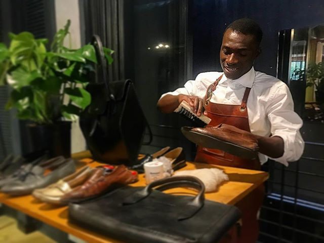 David at your service! #LockStockBarrel #PurveyorsofBespoke  #CapeTown #style #styleformen #styleguide #styletips #menswear #mensfashion #dapper #gent #tailored #tailoredsuit #madetomeasure #bespoke #business #entrepreneur #leather