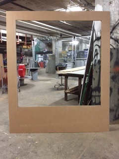 This is one of the frames before painting.