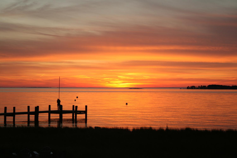 Image result for sunset chesapeake bay