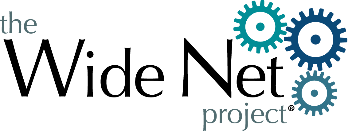 logo for Wide Net Project