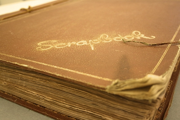 Scrapbooks or homemade photo albums expose your photos to air and other conditions, yellowing and fading over time.