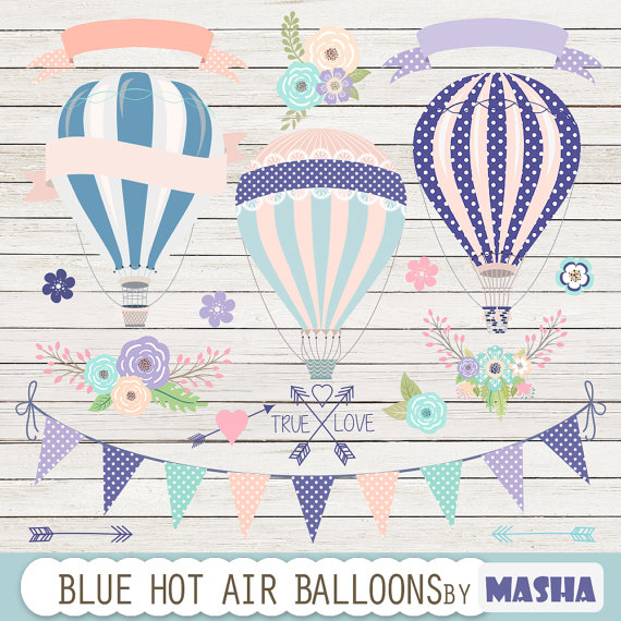 Navy & Purple Balloons