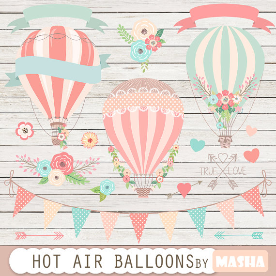Coral & Mint Balloons
