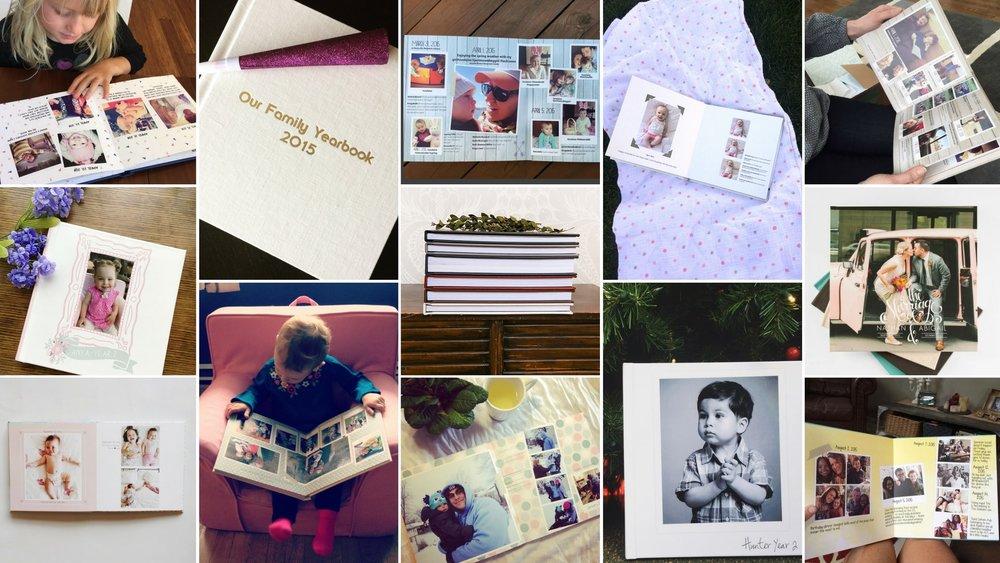 Custom photo albums designed with love    Start Your Album