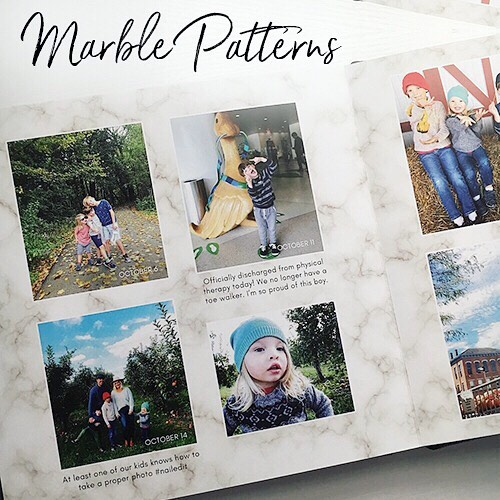 "New for 2019!✨ We have 2 fresh album design styles, live and ready for your next order. (Swipe to view more samples.) - 1️⃣ Marble Patterns Marble backgrounds seem to be everywhere these days, and now they are available for your next Shortcake Album design. Offering a sophisticated-yet-neutral setting for your memories and images, ""Marble Patterns"" is both modern and timeless. Perfect for weddings, family yearbooks, and European vacations... (A mom can dream, no?) - 2️⃣ Primary Linens Perfect for when you want something neutral, but also colorful. Bold colors blend softly to an ombre white, overlaid with a linen texture. A pop of color that will never go out of style. Just right for birthdays, baby albums, and family trips. Which one is your favorite?? I'm leaning towards Marble Patterns because I tend to go more neutral myself, but I love having a new colorful style for all you color-lovers out there.🌈 - #printyourmemories #customdesign #shortcakealbums"