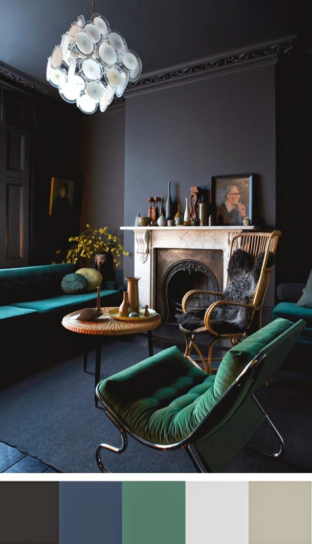 Salon londonien