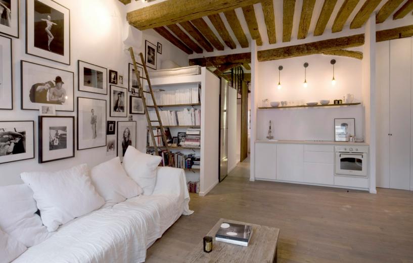 Souvent Appartement Parisien — Le Petit Florilège - Décoration intérieure  WB24