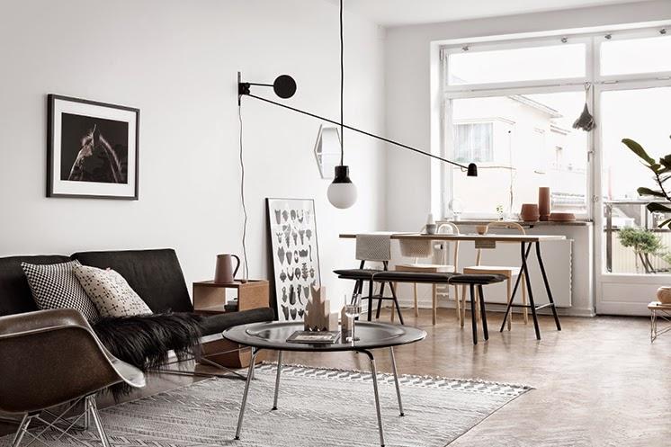 noir blanc bois le petit floril ge d coration int rieure architecture bordeaux. Black Bedroom Furniture Sets. Home Design Ideas