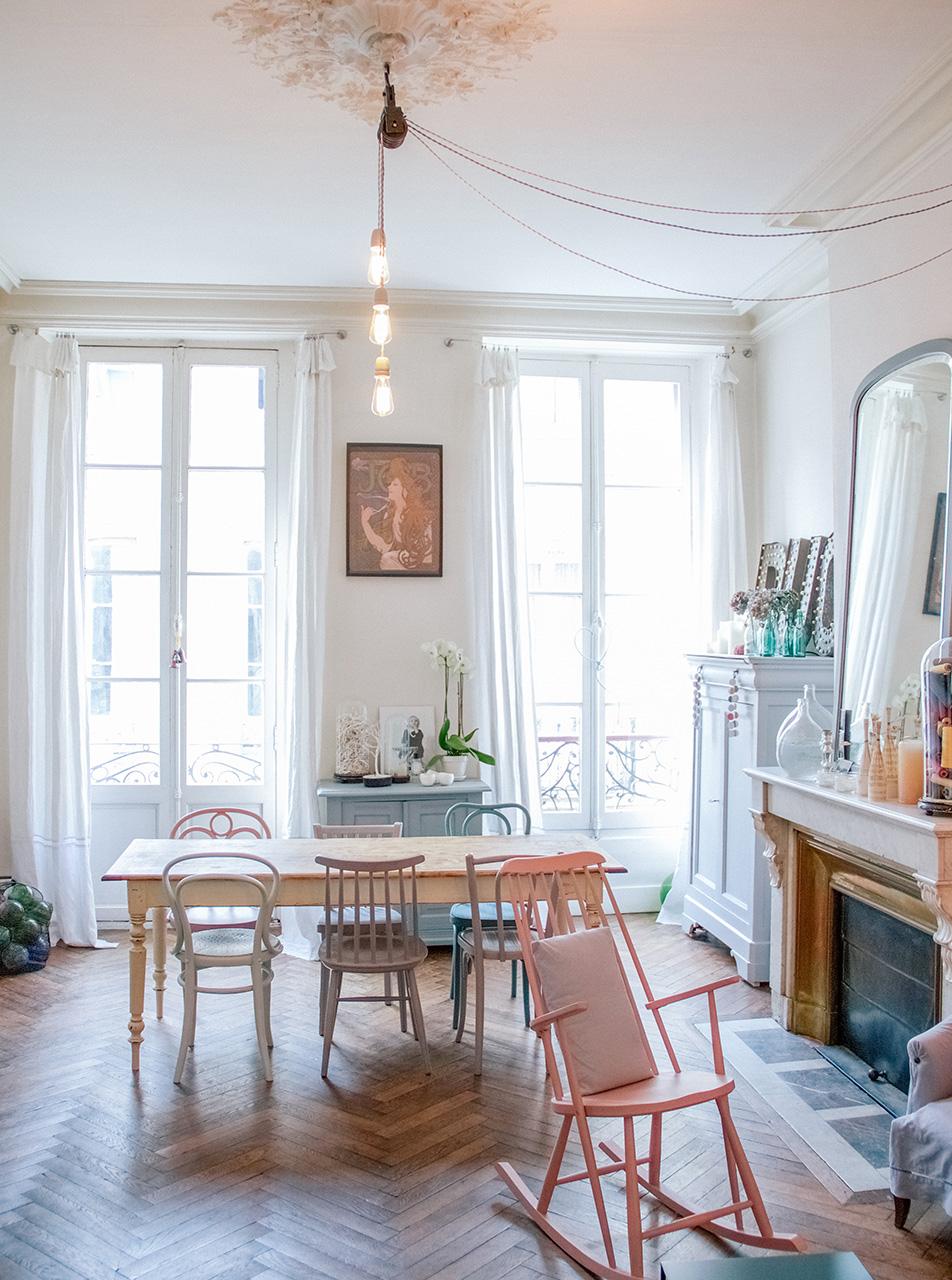 Décoration appartement à Bordeaux Chartrons