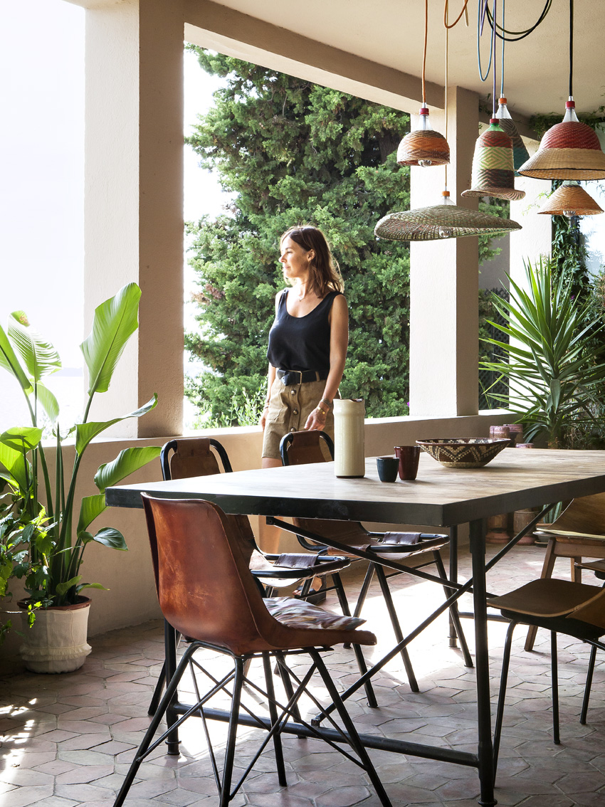 Emma francois, sessùn, terrasse,