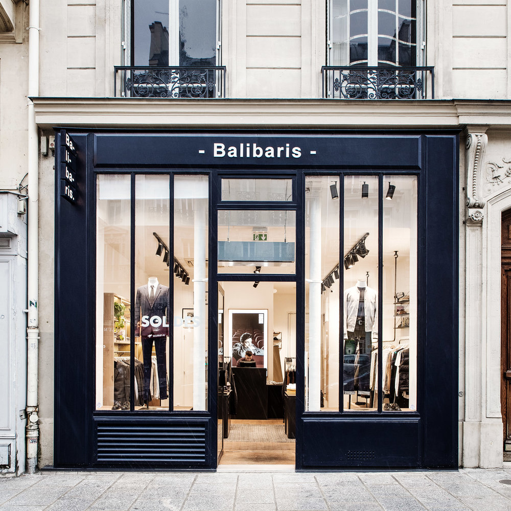 Boutique Balibaris boulevard Beaumarchais - Paris