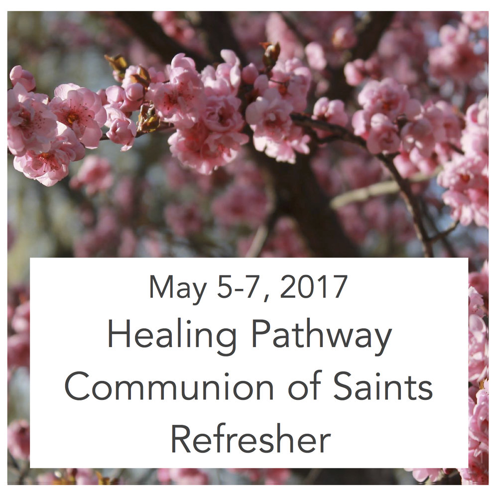 WE regret to announce that this program has been cancelled. Please go to the summer calendar- July 17-21  for further Healing Pathway training possibilities.