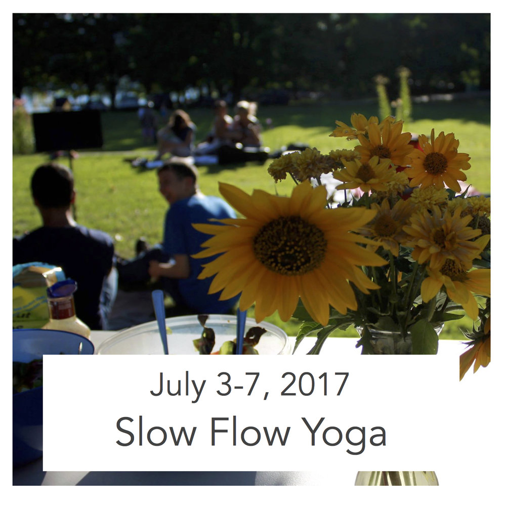 Monday - Friday, 9-10:30am $100   For ages 18 and up With Roswitha Masson Summer 2017 Naramata Centre