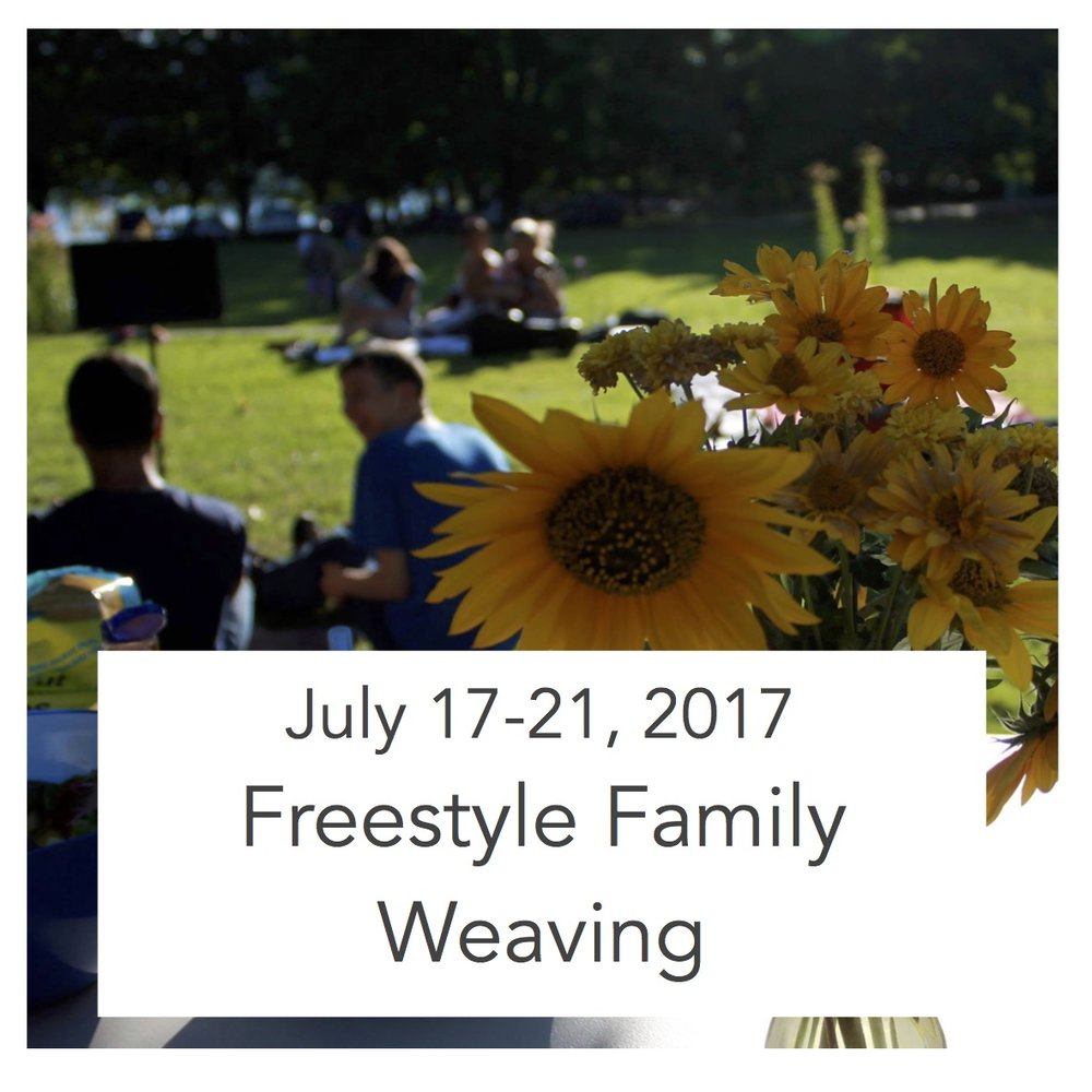 Monday - Friday, 9:30 am - 12:00 pm $300 + $50 materials fee ($350 for 1st family member, $50 per additional family member) For Children entering Kindergarten through to adult With Dawn Livera and Adrienne Neufeld Summer 2017 Naramata Centre