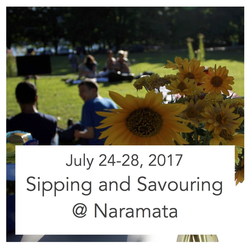 Monday - Friday, 9:00 am - 12:00 pm $175 For ages  19 and Up With Donna Simpson and Ann Richardson Summer 2017 Naramata Centre