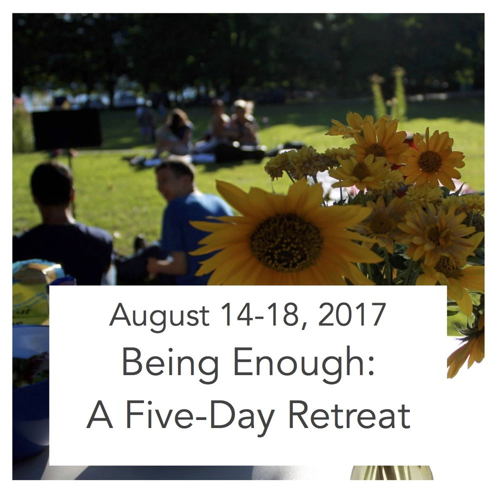 Monday - Friday, 9:00 am - Noon (with optional afternoon spiritual direction sessions by donation) $325 For AGes 25-65 With Celia McBride Summer 2017 Naramata Centre