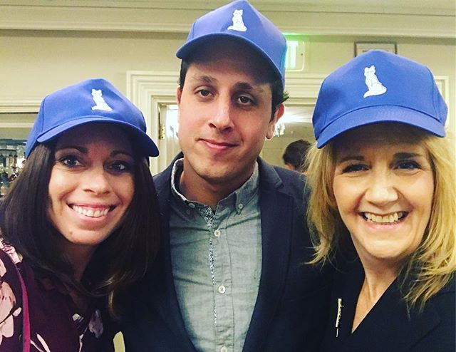 Hats for Good team at the California Copyright Conference! #hatsforgood #charity #nonprofit #goodcause