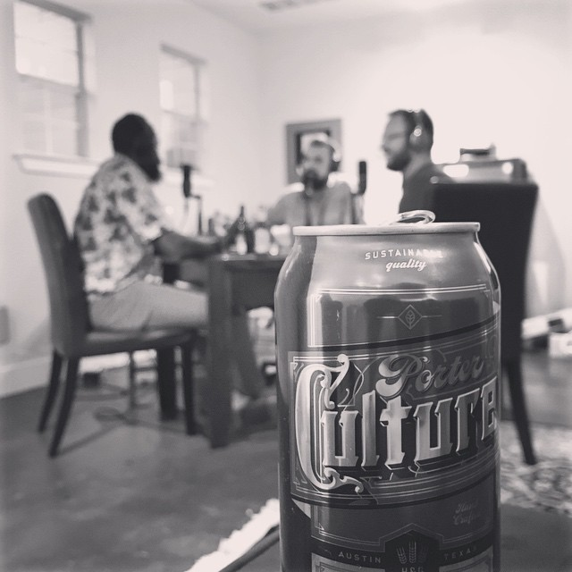 #bbiHQ where the podcasting continues. Photo shot by @ladanvi aka TK aka Nate. An epic night with one of the coolest people on this earth, cofounder of @alaffia. Thanks to our beer sponsor @hopsandjosh, #austin's best craft brewer, next stop Tanzania.