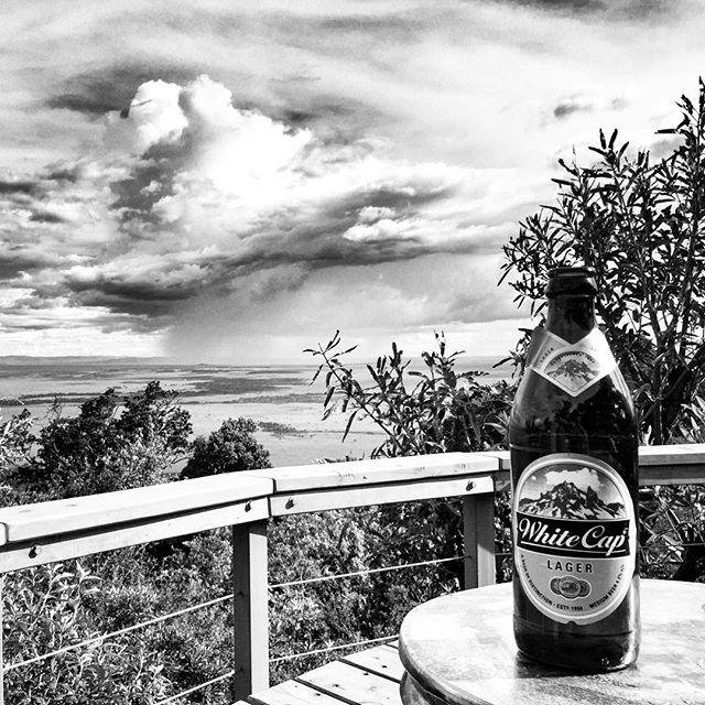White Cap Lager...the BBi favorite when on safari brainstorming big ideas in the Mara! ////////////////// #africa #kenya #beer #safari #blackandwhite #beersbigideas