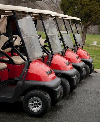 Exclusive Golf Cart Sponsorship     $2,500