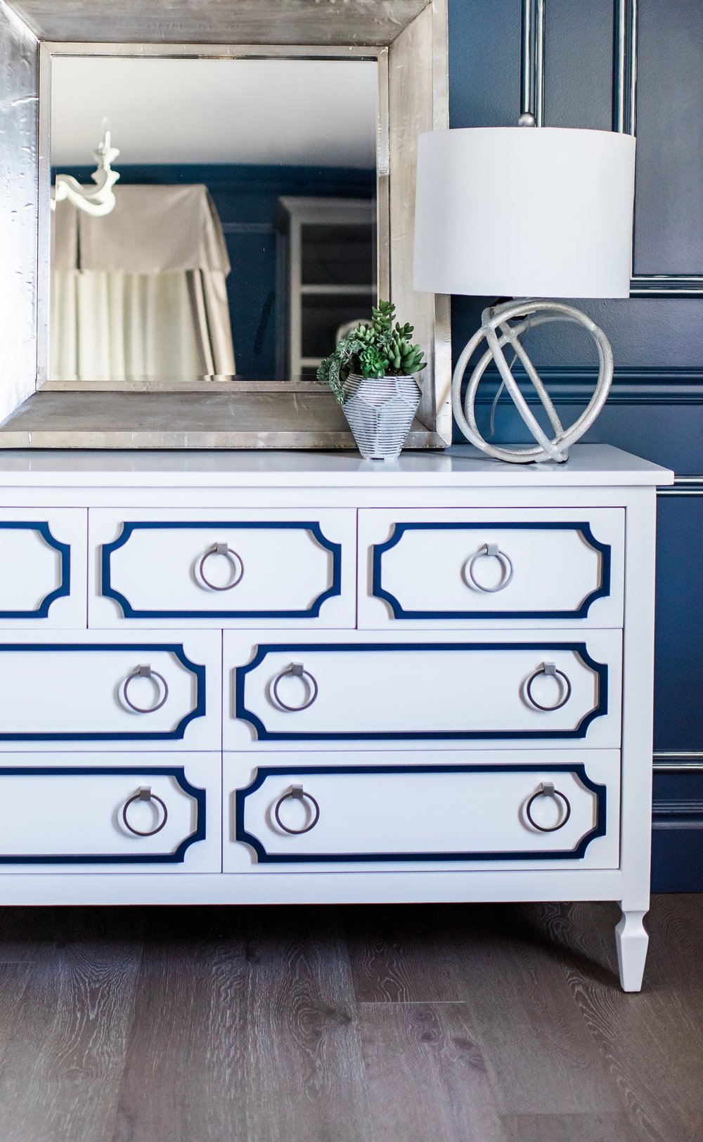 Navy blue dresser - Rockabye_Mommy.jpg