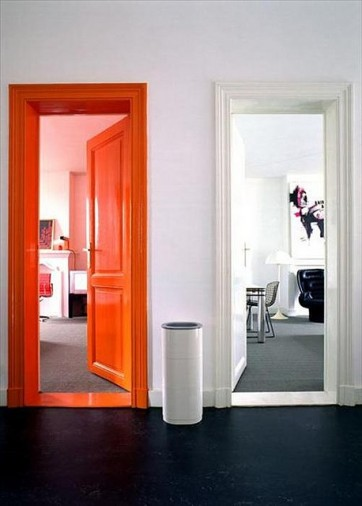 neon orange painted door.jpg