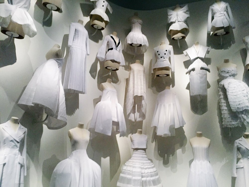 The Office of Dreams—Toiles, or cotton muslin, were used as Christian Dior's canvas in the initial design process.