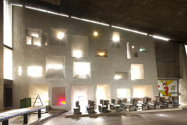 Le Corbusier, Chapelle Notre Dame du Haut