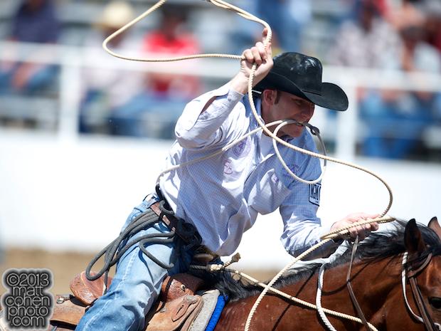 2013 Clovis Rodeo Timed Events Matt Cohen