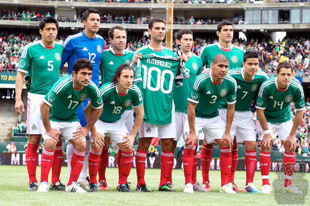 Mexico starting eleven