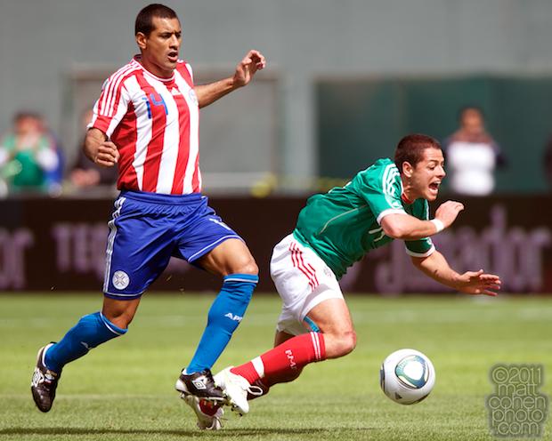 Paulo Cesar Da Silva & Javier Hernandez