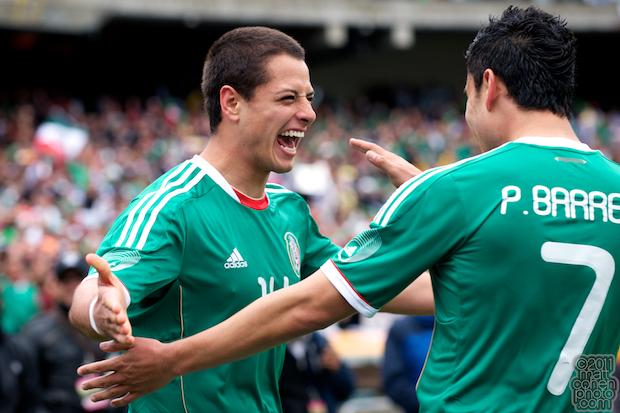 Javier Hernandez & Pablo Barrera