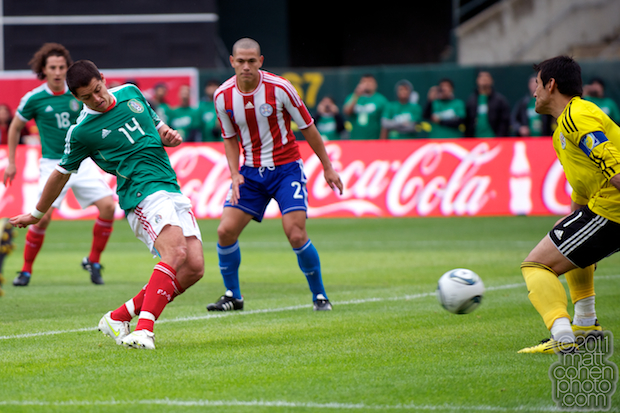 Javier Hernandez & Justo Villar