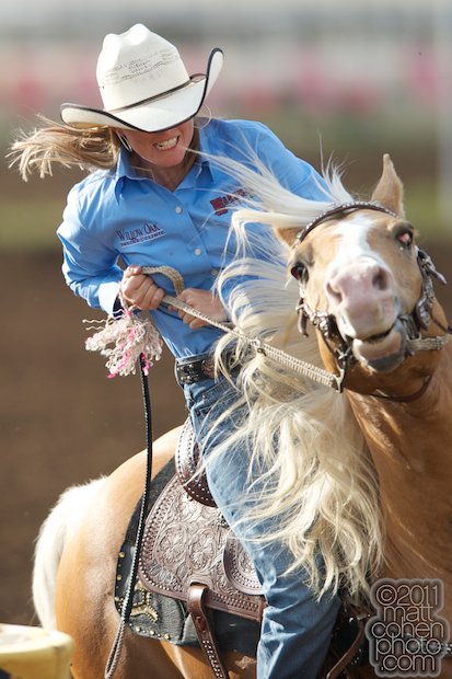 Barrel racing slack