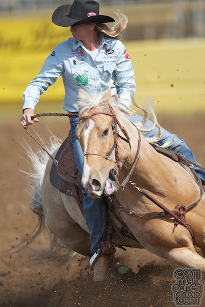 Sherry Cervi - 2011 Red Bluff Round-Up