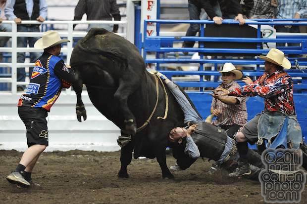 Keith Roquemore - PBR at the Cow Palace 2009