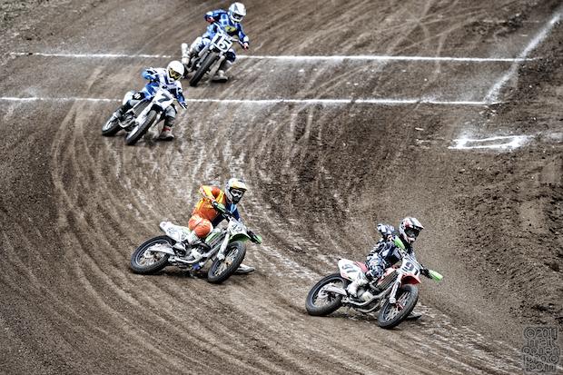 Flat track dirt bikes - 2011 AMA West Coast Moto Jam