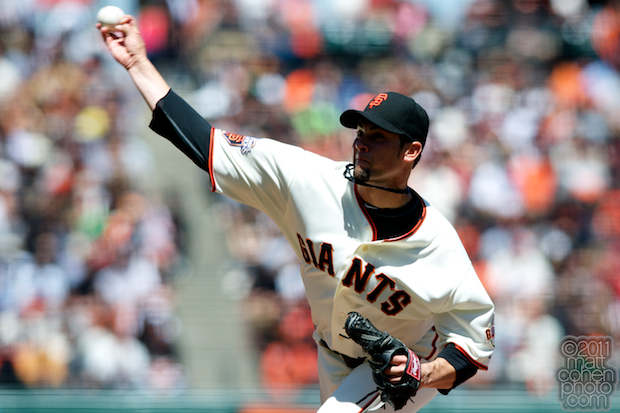 Ryan Vogelsong - Florida Marlins at San Francisco Giants