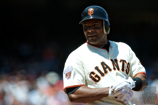 Miguel Tejada - Florida Marlins at San Francisco Giants