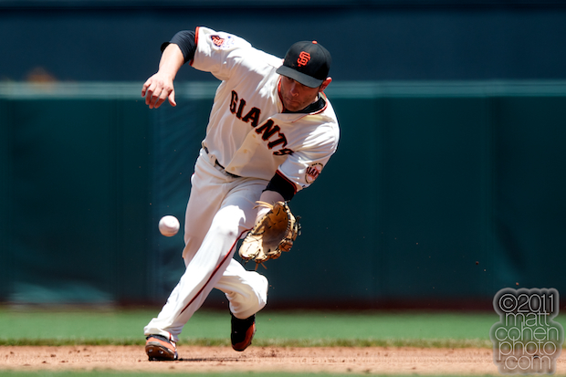 Freddy Sanchez - Florida Marlins at San Francisco Giants