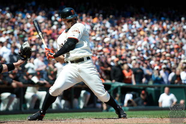 Cody Ross - Florida Marlins at San Francisco Giants