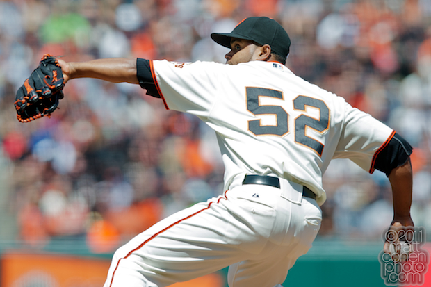 Ramon Ramirez - Florida Marlins at San Francisco Giants